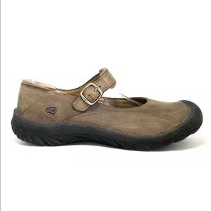 Keen Charleston Pinecone Leather Mary Jane Shoes